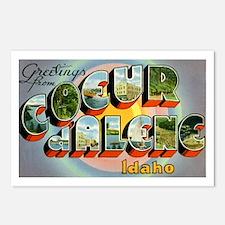 Coeur d'Alene Idaho Postcards (Package of 8)