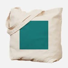 solid color teal Tote Bag