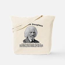 Douglass: Christianity Tote Bag