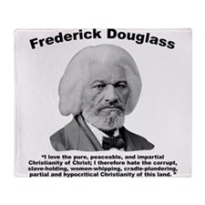 Douglass: Christianity Throw Blanket