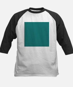 solid color teal Baseball Jersey