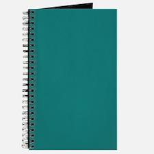 solid color teal Journal