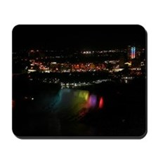 Niagara Falls At Night Mousepad