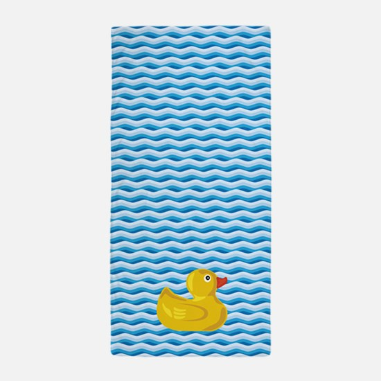 Ducky Swim Beach Towel