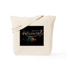 Niagara Falls At Night Tote Bag