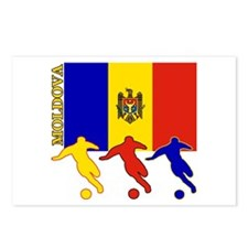 Moldova Soccer Postcards (Package of 8)