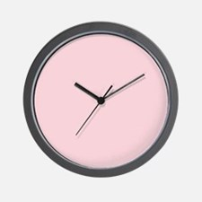cute blush pink Wall Clock