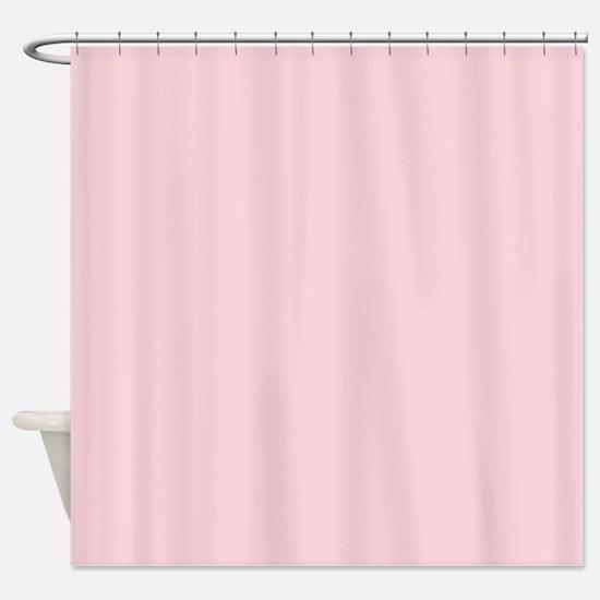 cute blush pink Shower Curtain