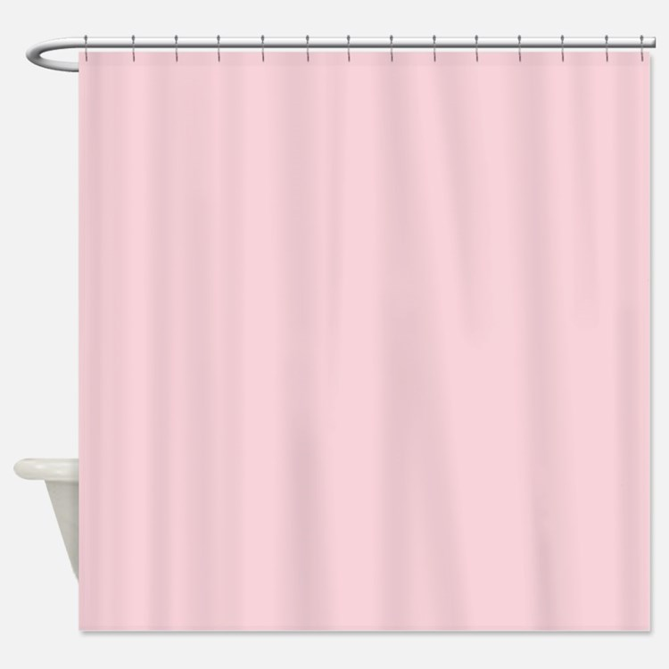 Shower Curtains Pink Pink Toile Fabric Bath Shower
