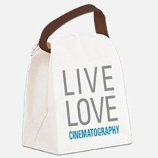 Cinematography Canvas Lunch Bag