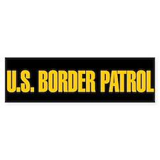 U.S. Border Patrol Bumper Bumper Sticker