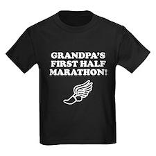 Grandpas First Half Marathon T-Shirt