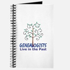 GENEALOGISTS LIVE IN THE PAST Journal