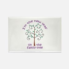 NEW LEAF ON FAMILY TREE Magnets