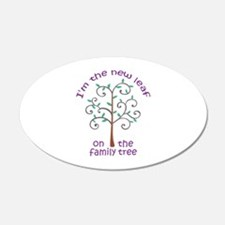 NEW LEAF ON FAMILY TREE Wall Decal