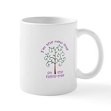 NEW LEAF ON FAMILY TREE Mugs