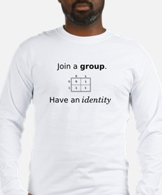 Group Identity Long Sleeve T-Shirt