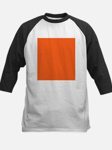 modern plain orange Baseball Jersey