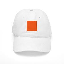 modern plain orange Baseball Baseball Cap