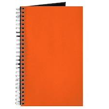 modern plain orange Journal