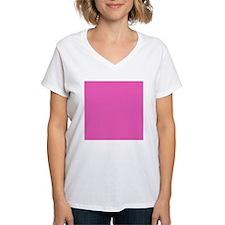 girly fuschia pink T-Shirt