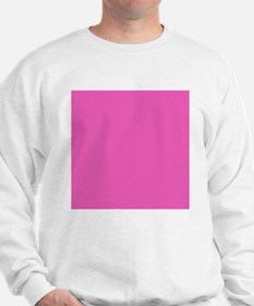 girly fuschia pink Sweatshirt