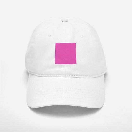 girly fuschia pink Baseball Baseball Cap