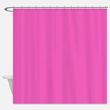 girly fuschia pink Shower Curtain