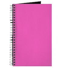 girly fuschia pink Journal