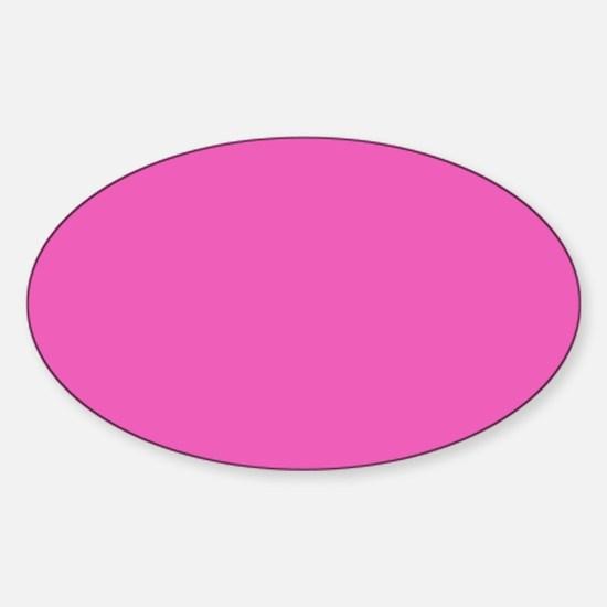 girly fuschia pink Decal