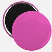 girly fuschia pink Magnets
