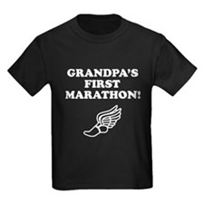 Grandpas First Marathon T-Shirt