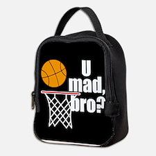 U Mad Bro? Neoprene Lunch Bag