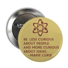 "Marie Curie: About People 2.25"" Button (10 pack)"