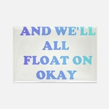 float on Rectangle Magnet (10 pack)
