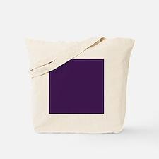 modern eggplant purple Tote Bag