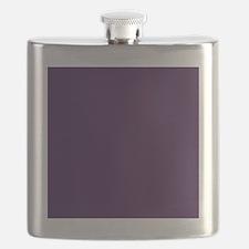 modern eggplant purple Flask
