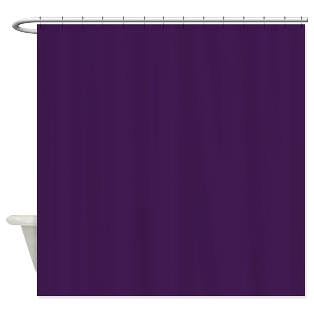 modern eggplant purple Shower Curtain by ADMIN_CP62325139