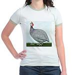 Lavendar Guinea Jr. Ringer T-Shirt