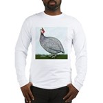 Lavendar Guinea Long Sleeve T-Shirt
