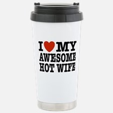Funny Navy seal wife Travel Mug