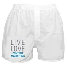 Content Marketing Boxer Shorts