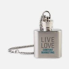 Content Marketing Flask Necklace