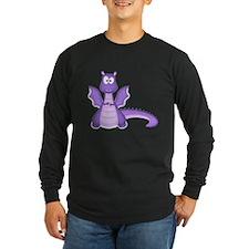 Purple Dragon Long Sleeve T-Shirt