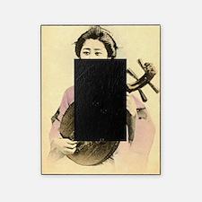 vintage pastel geisha asian Picture Frame