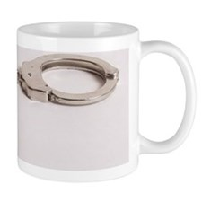 silver handcuffs photo 2 Mug