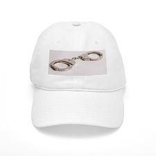 silver handcuffs photo 2 Baseball Cap