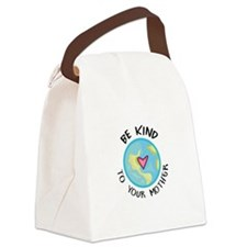 BE KIND TO YOUR MOTHER Canvas Lunch Bag
