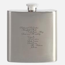 Pride prejudice Flask