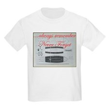 NEVER FORGET - Slave Ships T-Shirt